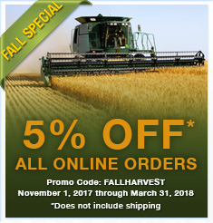 Save 5% with FALLHARVEST